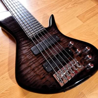 Benavente SCD 6 string Quilt top Set-neck in Gloss finish with Satin neck. for sale