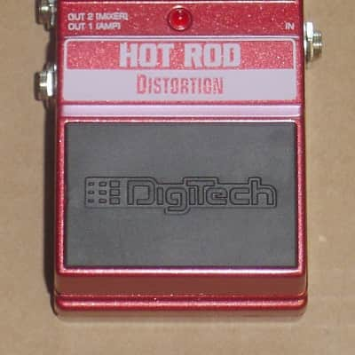 Digitech XHR Hot Rod Distortion Guitar Effects Pedal (Authorized Dealer) for sale