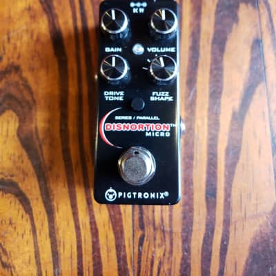 Pigtronix Disnortion Micro Distortion/Fuzz Recent  Metallic