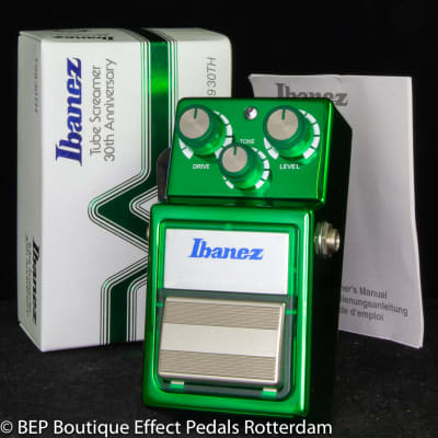 Ibanez TS-9 Tube Screamer 30th Anniversary Edition s/n 30TH 1548 Japan 2011 with JRC4558D op amp