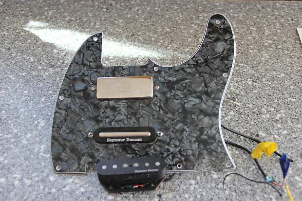 920D Nashville Tele Custom Brent Mason Loaded Pick Guard Reverb
