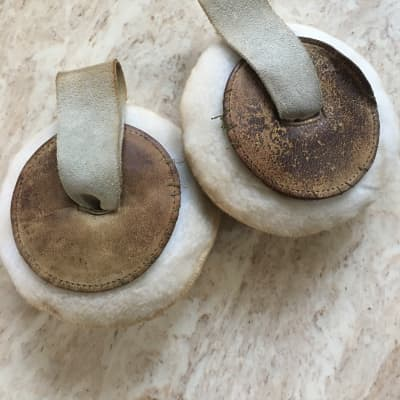Vintage Marching Cymbal Pads