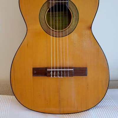 Vintage 1970's Spanish Classical Guitar by Rafael Molina - Model Mervi for sale