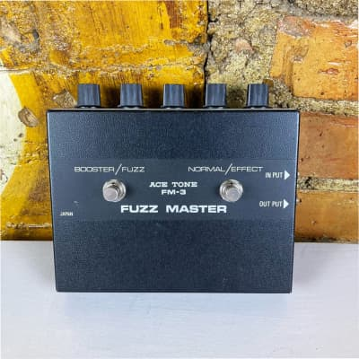 Ace Tone Fuzz Master FM-3 - Big Muff Style with Treble Boost