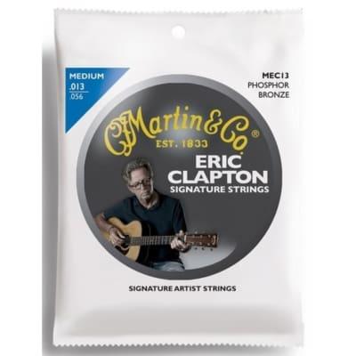 New Martin MEC13 Clapton's Choice Phosphor Bronze Acoustic Guitar Strings, Medium