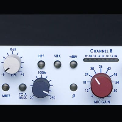 Rupert Neve Designs 5012-H Duo Mic Pre Dual Channel Microphone Preamp (Horizontal)