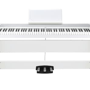 Korg B1-SP-WH 88-Key Digital Piano w/ Stand and Pedals