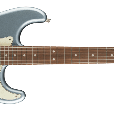 FENDER Deluxe Roadhouse Stratocaster Pau Ferro Fingerboard IN Mystic Ice Blue 0147303362 for sale