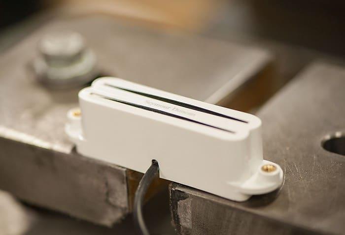 Seymour Duncan SHR-1b Hot Rails for Strat White | Reverb