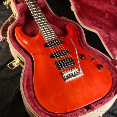 Marchione ''Uni Body'' Carve Top SSH -Roasted Basswood / Trans Red- by Stephen Marchione for sale