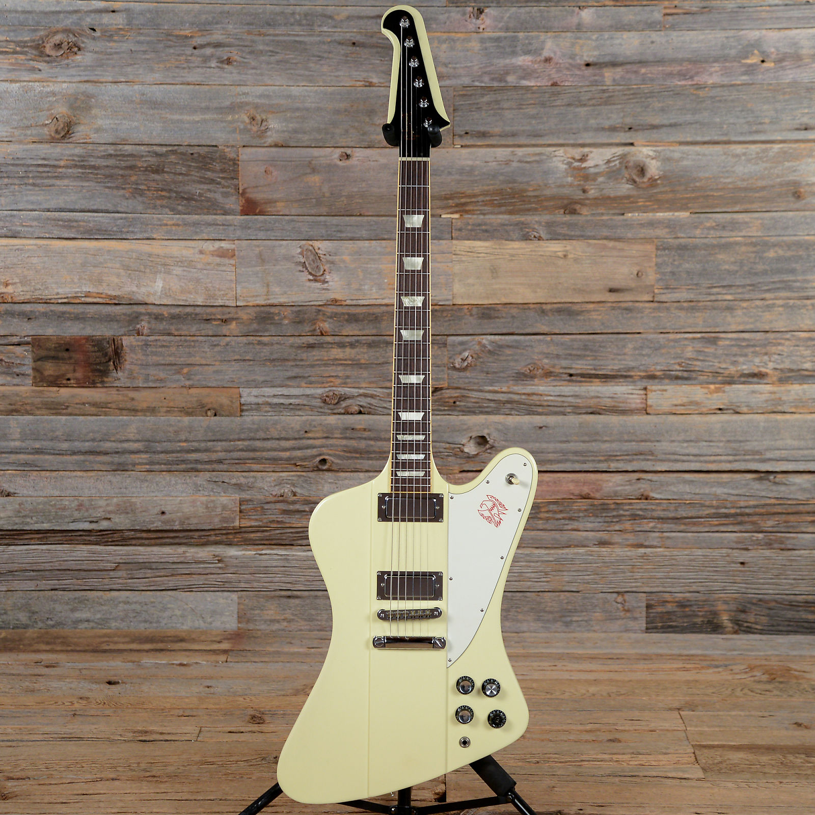 2008 gibson firebird v classic white cool electric