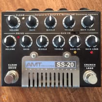 AMT Electronics SS-20 Guitar Preamp 2010s Black image