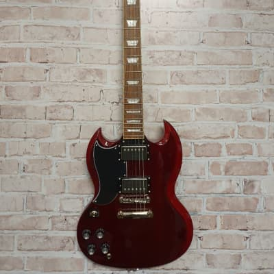 Epiphone G-400 Pro SG (Lefty) 2019 Cherry Red for sale