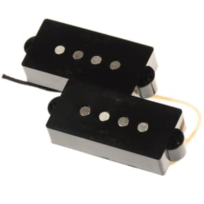 Bare Knuckle '58 Split Coil P-Bass Series Electric Bass Replacement Pickup in Black