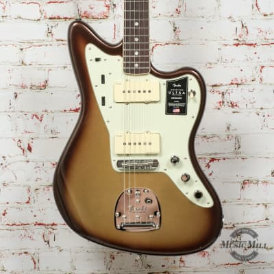 Fender American Ultra Jazzmaster Electric Guitar Mocha Burst x9988