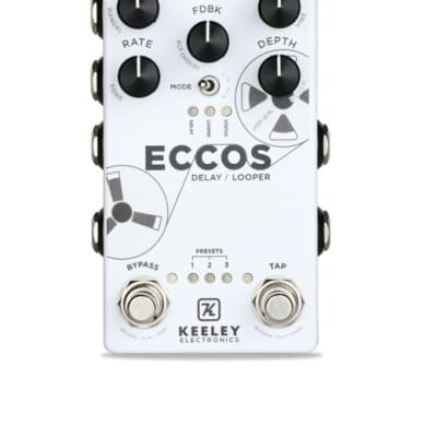 Keeley Electronics ECCOS True Stereo Delay and Looper Pedal