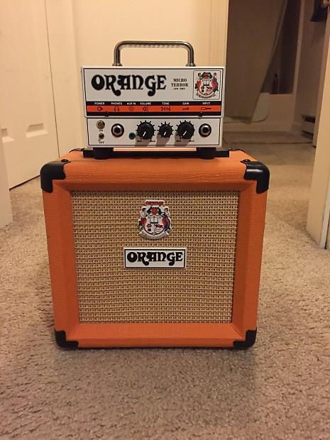 Orange MT20 Micro Terror and Orange 1x8 cabinet | Reverb