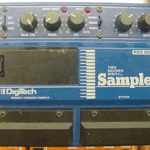 Digi-Tech PDS-2000 Sampler, Double Pedal Model for sale