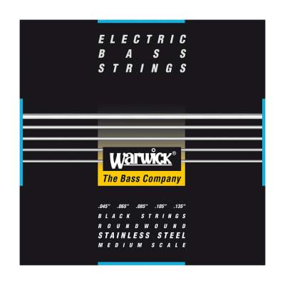 Warwick Cuerdas Bajo 5 Black Label 45-135 (Escala media)