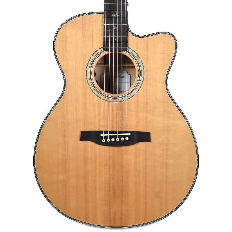 Paul Reed Smith PRS SE AE50EBG Angelus Cutaway Acoustic Electric Guitar Black Gold w/ Hard Case