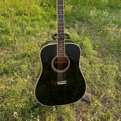 Takamine F-341 JAPAN RARE 80s  Black with case holy grail for sale