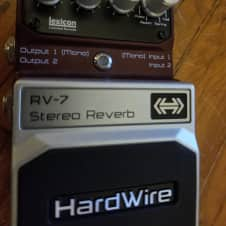 DigiTech Hardwire RV-7 Stereo Reverb reverse gated plate
