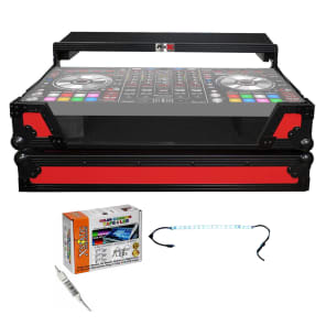 ProX XS-DDJSXWLTRB Road Case for Pioneer DDJ-SX/RX with Laptop Shelf and Wheels