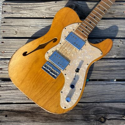 Danocaster '72 Thinline 2020 Natural Ash for sale