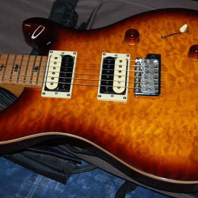 NEW! Paul Reed Smith SE Custom 24 Quilt Top Baked Maple Neck Limited Edition Authorized Dealer PRS for sale