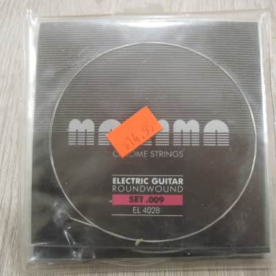 Maxima EL 4028 Chrome Round Wound Extra Light 9-42 Electric Guitar Strings EL4028 for sale