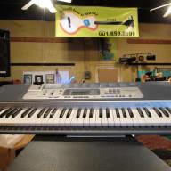 CASIO Keyboard LK100 w/batteries - rhythm / lighted keys / MIDI in/out