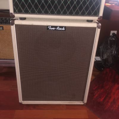 Two Rock Signature Onyx  Amp Amplifier White Numbered 24 Limited Pre PBG and Matching 2  -12 Cabinet for sale