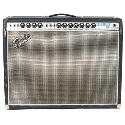 "Fender Twin Reverb ""Drip Edge"" 2-Channel 100-Watt 2x12"" Guitar Combo 1968 - 1969"