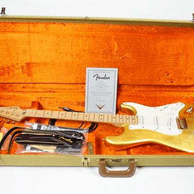 Fender Custom Shop Masterbuilt Eric Clapton Gold Leaf Stratocaster