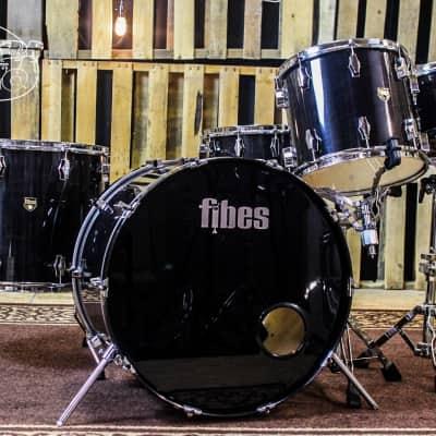 Fibes Austin Era Drum Set 18x24, 8x10,12x14, 16X18, 8x14 (video demo)