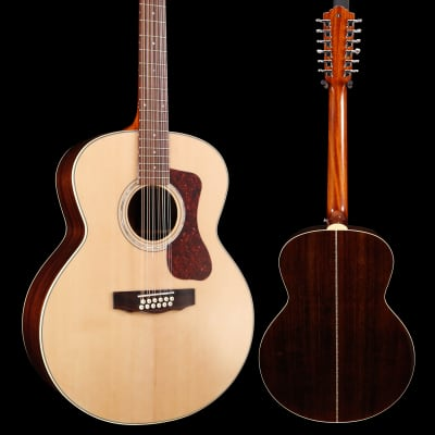 Guild Westerly Collection F-1512E 12-String A/E Natural S/N G1185434 6lbs 1.3oz for sale