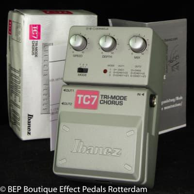 New Old Stock Ibanez TC7 Tri-mode Chorus s/n 073000463