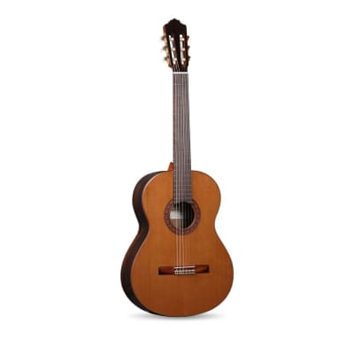 Almansa 424 Zircote Cedar Solid Top Classical Guitar for sale