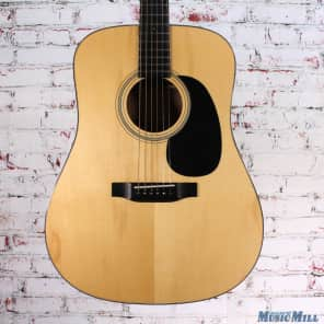 Recording King RD-316-FE2 All Solid AAA Adirondack Spruce Top Dreadnought with Fishman Matrix Electronics Natural Gloss