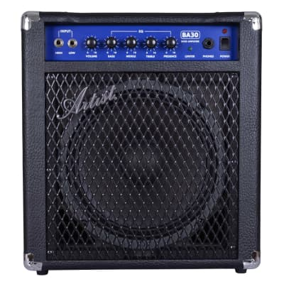 Artist BA30 30W Bass Guitar Amplifier with Passive/Active Input for sale
