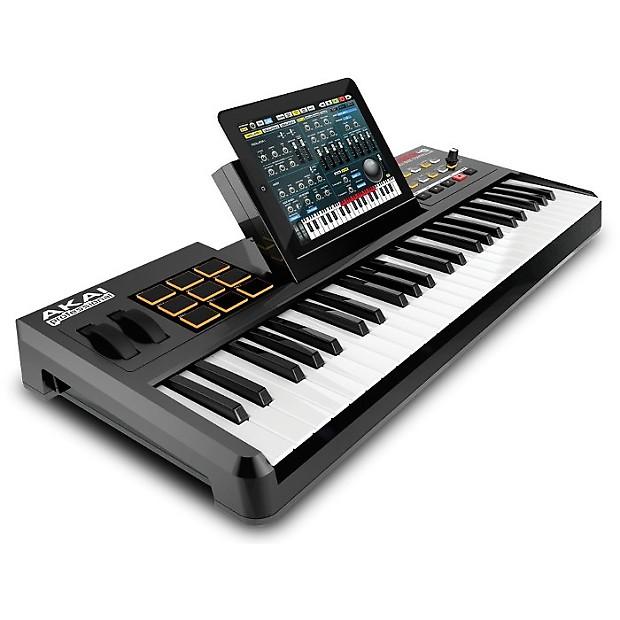 Akai Synthstation 49 Midi Keyboard Controller w/ iPad Dock
