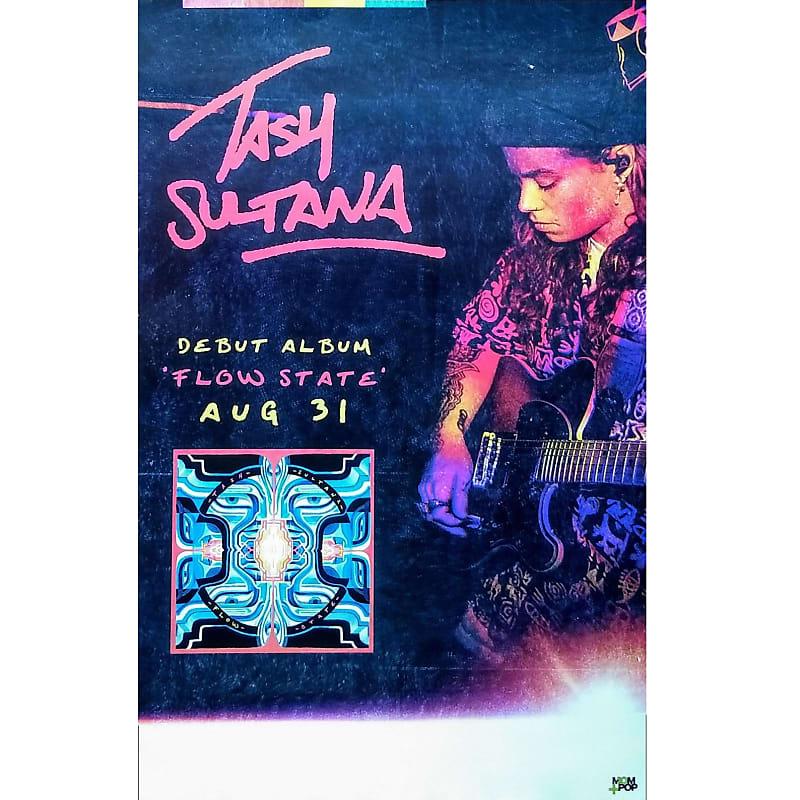 Tash Sultana - Flow State Ltd Ed New RARE Tour Poster! Tame Impala Alt-J  Paul Simon Bon Iver Santana