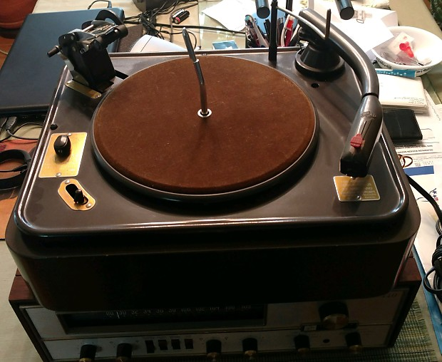 Vintage 1950's (early) Garrard Turntable RC-80 M 33/45/78 RPM