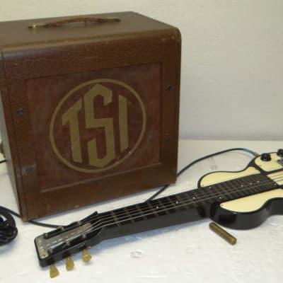 Rickenbacker B Lap Steel 1946-49 Beige and Black w/ Amp & Case for sale