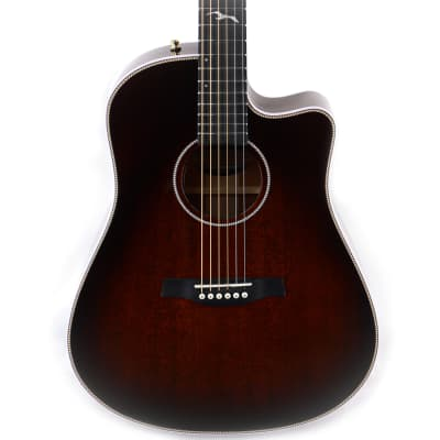 Seagull Artist Peppino Signature CW Bourbon Burst w/ Anthem, w/Case for sale