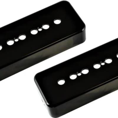 Allparts PC-0746-023 Black 50mm Plastic Soapbar Pickup Cover