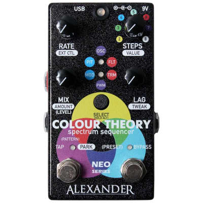 Alexander Colour Theory Spectrum Sequencer