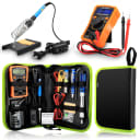 Anbes Soldering Iron Kit 60W Digital Multimeter 8 pcs Accessories Free 2 Day Shipping