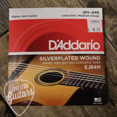 D'Addario EJ84m Gypsy Jazz loop end