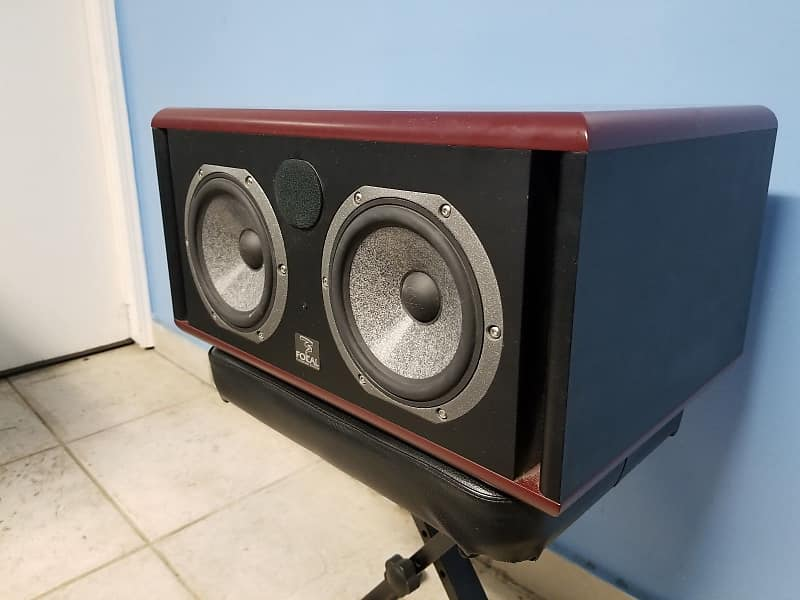 focal twin6 be 6 5 3 way powered studio monitor woofer reverb. Black Bedroom Furniture Sets. Home Design Ideas